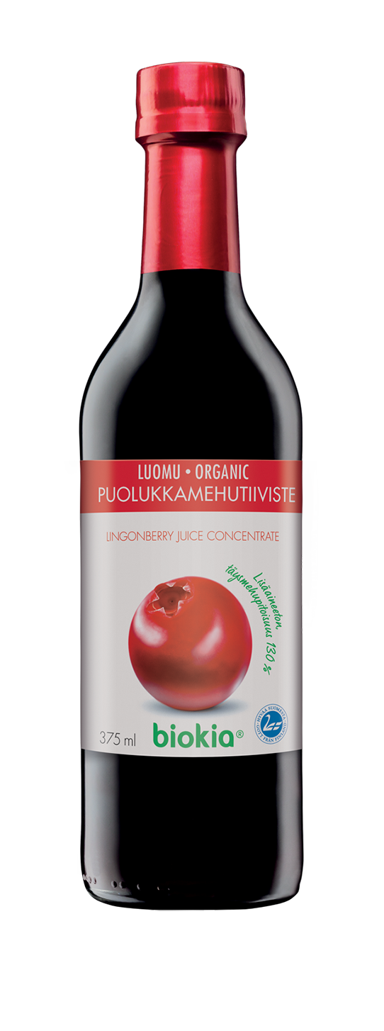 Organic Lingonberry Juice Concentrate