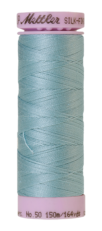 Mettler Silk-Finish Mercerized Cotton Thread, Color 0020, Rough Sea
