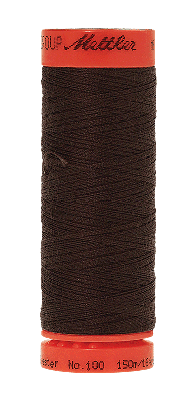 Metrosene® Universal Thread, Color 1002, Very Dark Brown