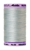 Mettler Silk-Finish Mercerized Cotton Thread, Color 1081, Moonstone