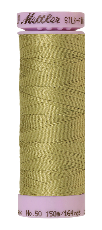 Mettler Silk-Finish Mercerized Cotton Thread, Color 1148, Seaweed
