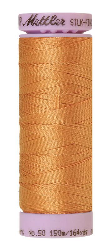 Mettler Silk-Finish Mercerized Cotton Thread, Color 1172, Ivory