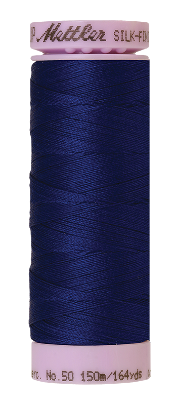 Mettler Silk-Finish Mercerized Cotton Thread, Color 1305, Delft