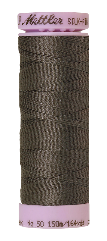 Mettler Silk-Finish Mercerized Cotton Thread, Color 1360, Whale