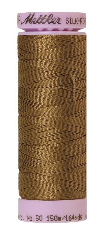 Mettler Silk-Finish Mercerized Cotton Thread, Color 1425, Dormouse