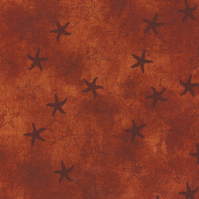 Land-Sea-Sky Tonals - Starfish - Rust - DT