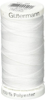 GÜTERMANN Sew-All Thread, Color 20, Nu White