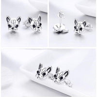 French Bulldog Small Stud Earrings