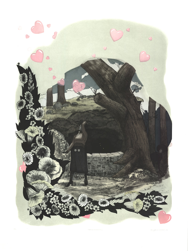 Kerry James Marshall's Vignette (Wishing Well)
