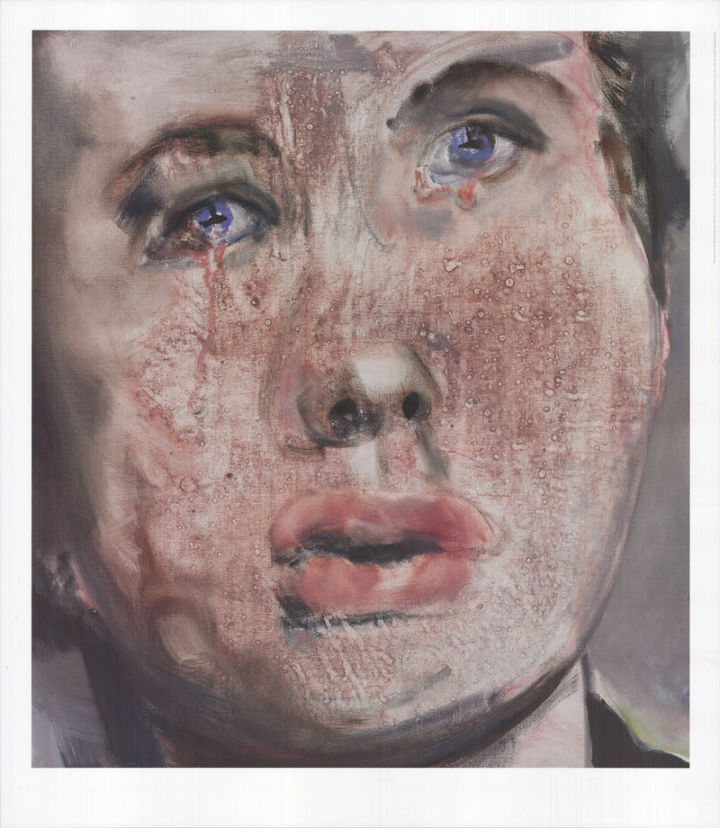 "MARLENE DUMAS For Whom the Bell Tolls 31.75"" x 27.5"" Poster 2015 Brown"