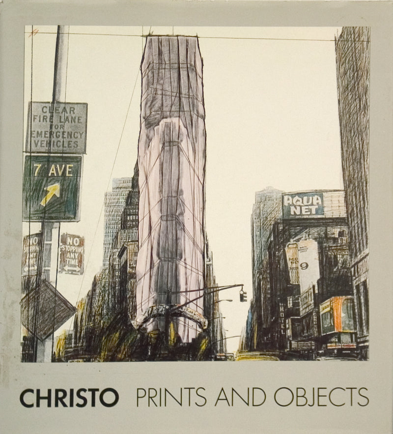 "Javacheff Christo Prints and Objects 1963-1987 : A Catalogue Raisonne 15"" x 12"" Book 1988 Contemporary Brown"