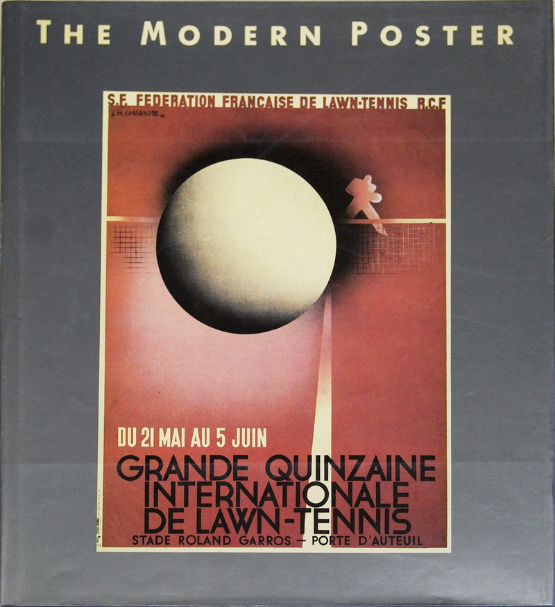 "The Modern Poster 12.25"" x 11"" Book 1992 Gray, Red"