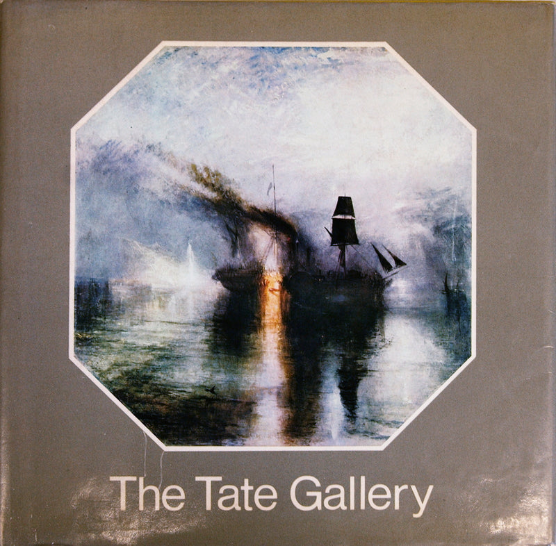 "The Tate Gallery 8.5"" x 8.5"" Book 1969 Gray"