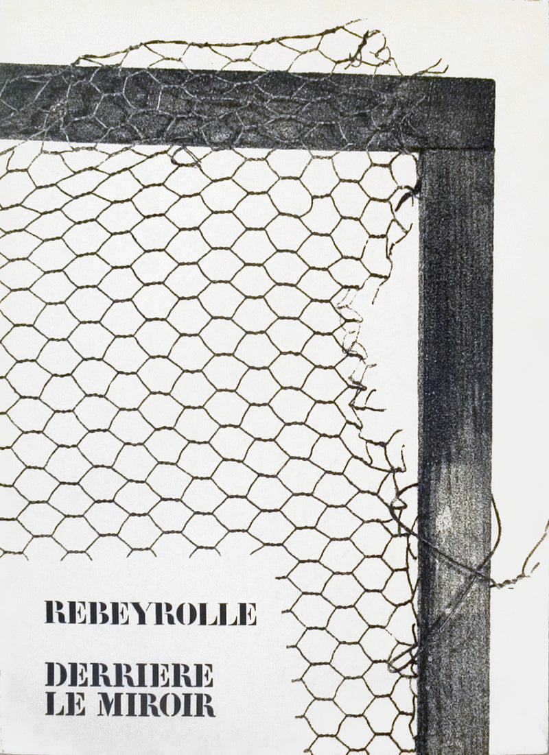 "Rebeyrolle Derriere le Miroir, no. 202 15"" x 11"" Book 1973 Photography Black & White"