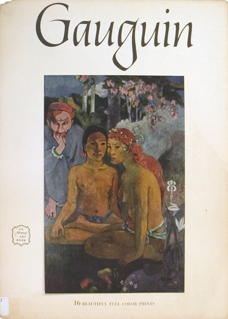 "Gauguin- Art Treasures of the World 15"" x 11.25"" Book 1954 Brown Nude"