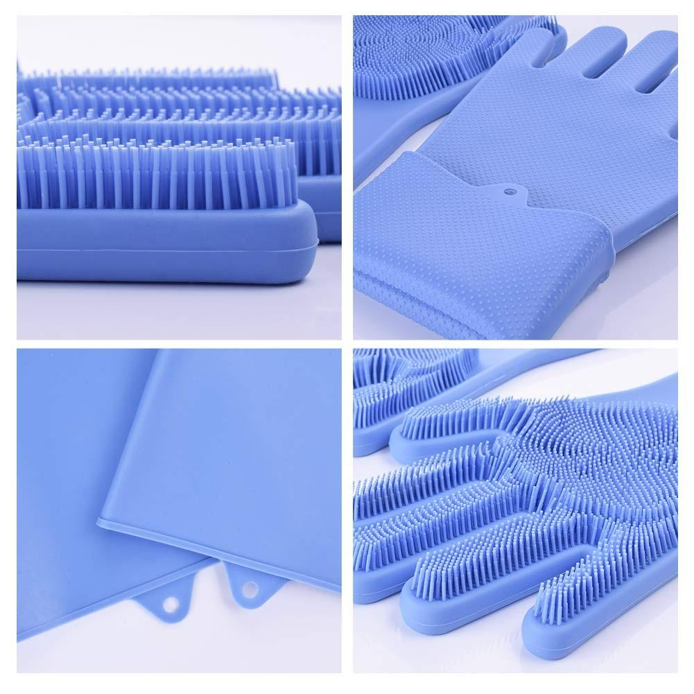 Brush Combined Cleaning Gloves