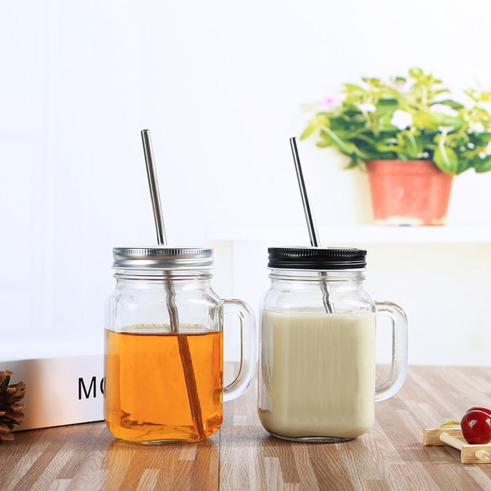 Dishwasher Safe Stainless Steel Straw Set