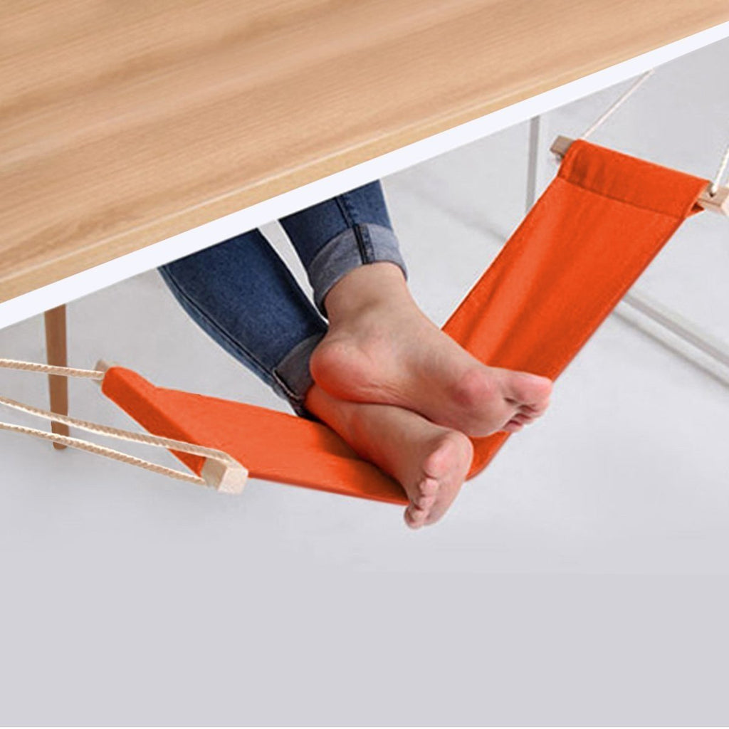 Hook-and-Use Foot Rest Hammock