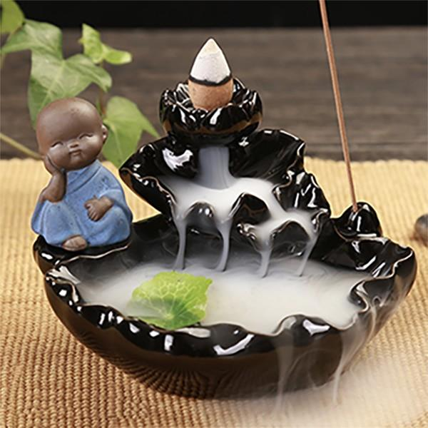 "Landscape ""Waterfall"" Incense Burner"