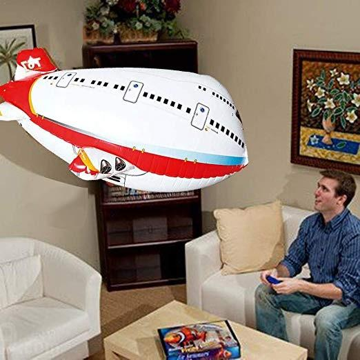Remote Control Light-Up Airplane Balloon Set
