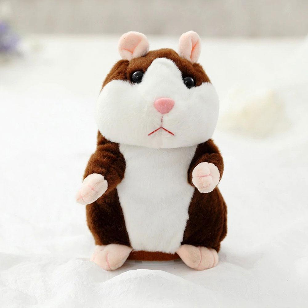 Mister Hamster Sound Recording Walking Plush