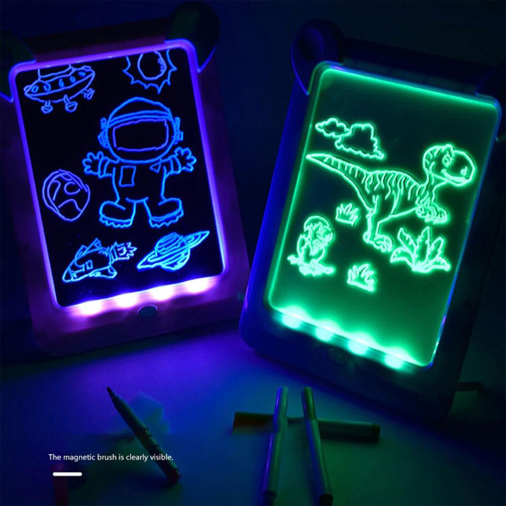 3D Magic Light-Up Drawing Pad