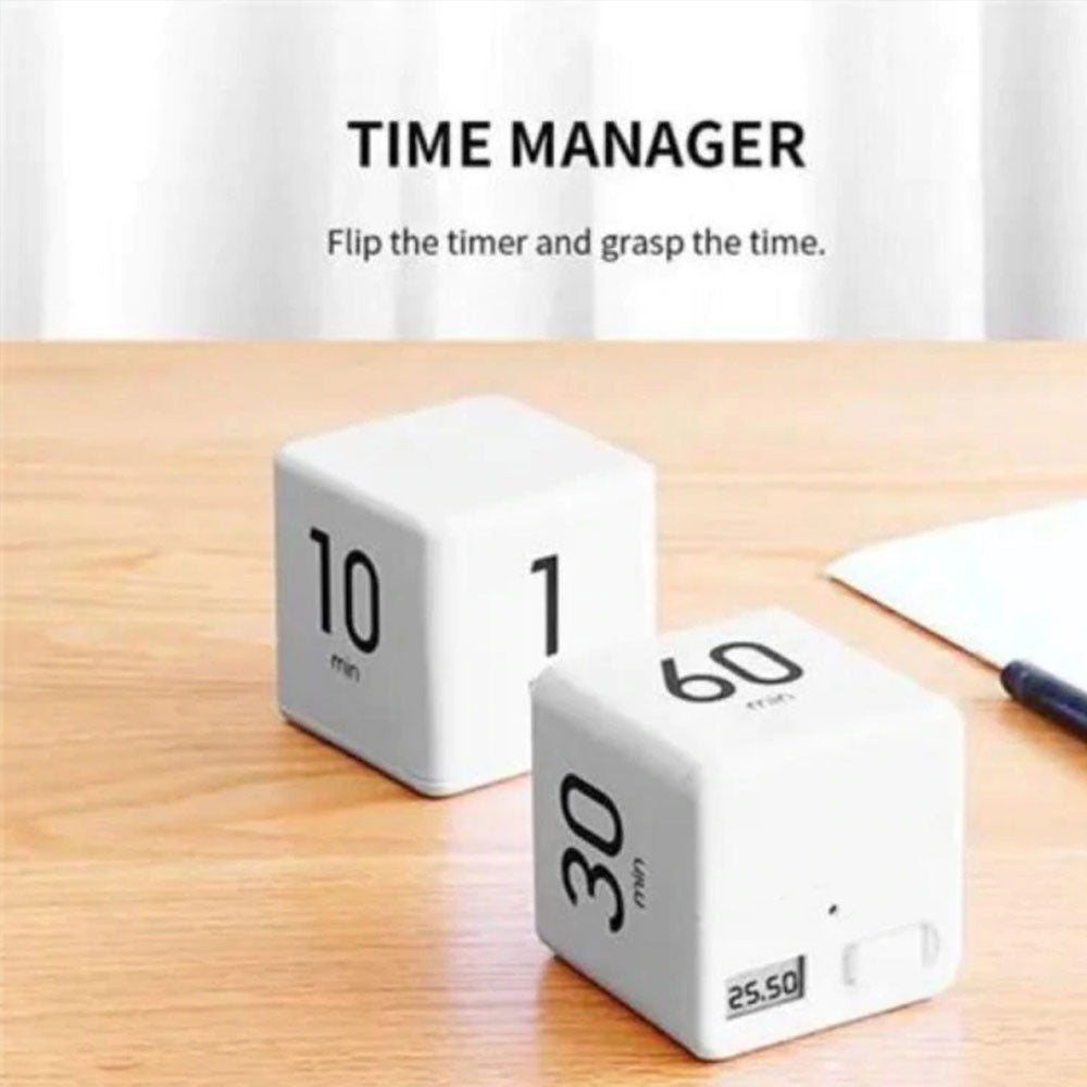 Creative Time Management Timer Cube