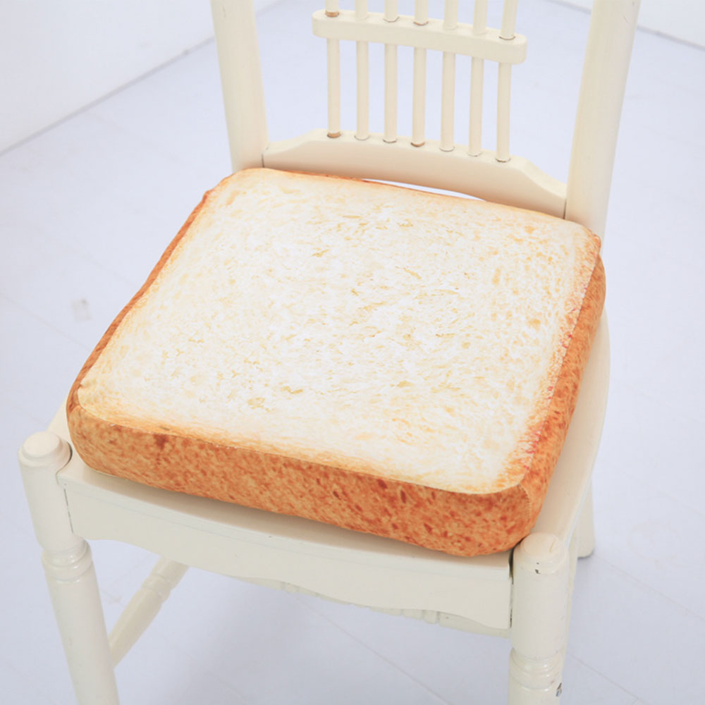 Extra Thick Toasty Chair Cushion Plush