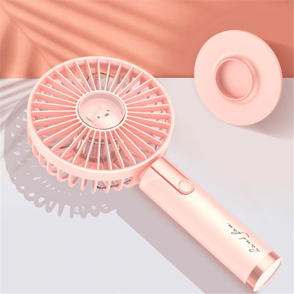 Handheld and Desktop Portable Fan