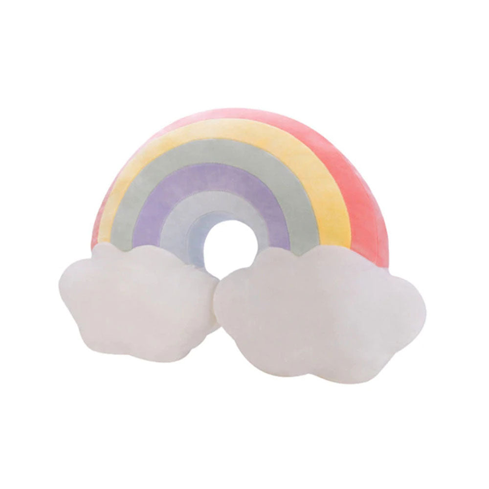 Rainbow Sky Plush Cushion