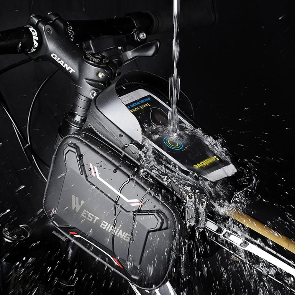 Rainproof Cycling Bag and phone holder