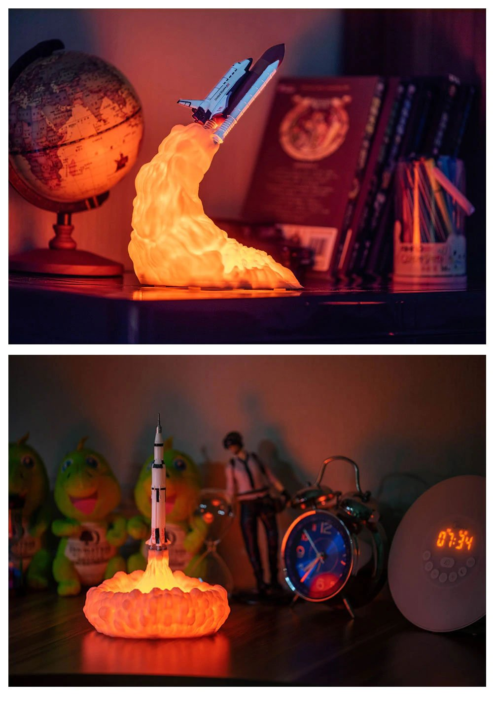Star Kingdom Rocket Lamp