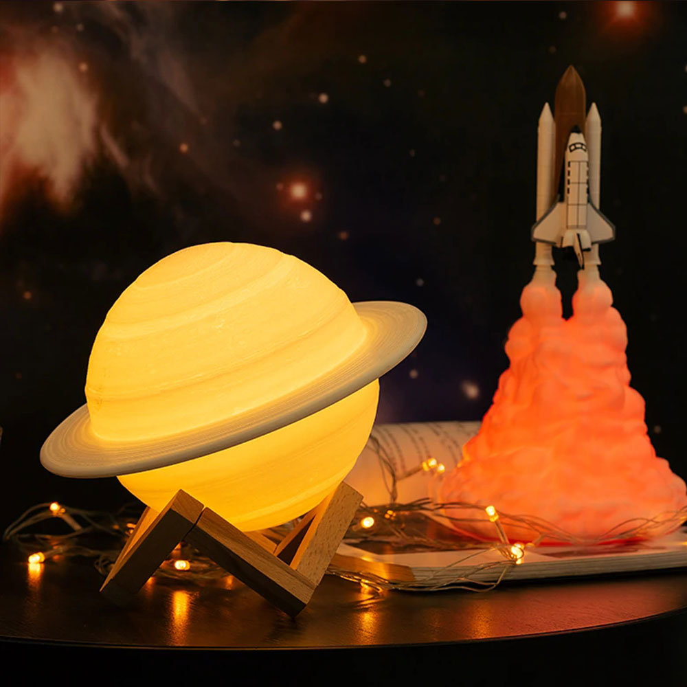Star Kingdom Saturn Space Lamp - 16 colours