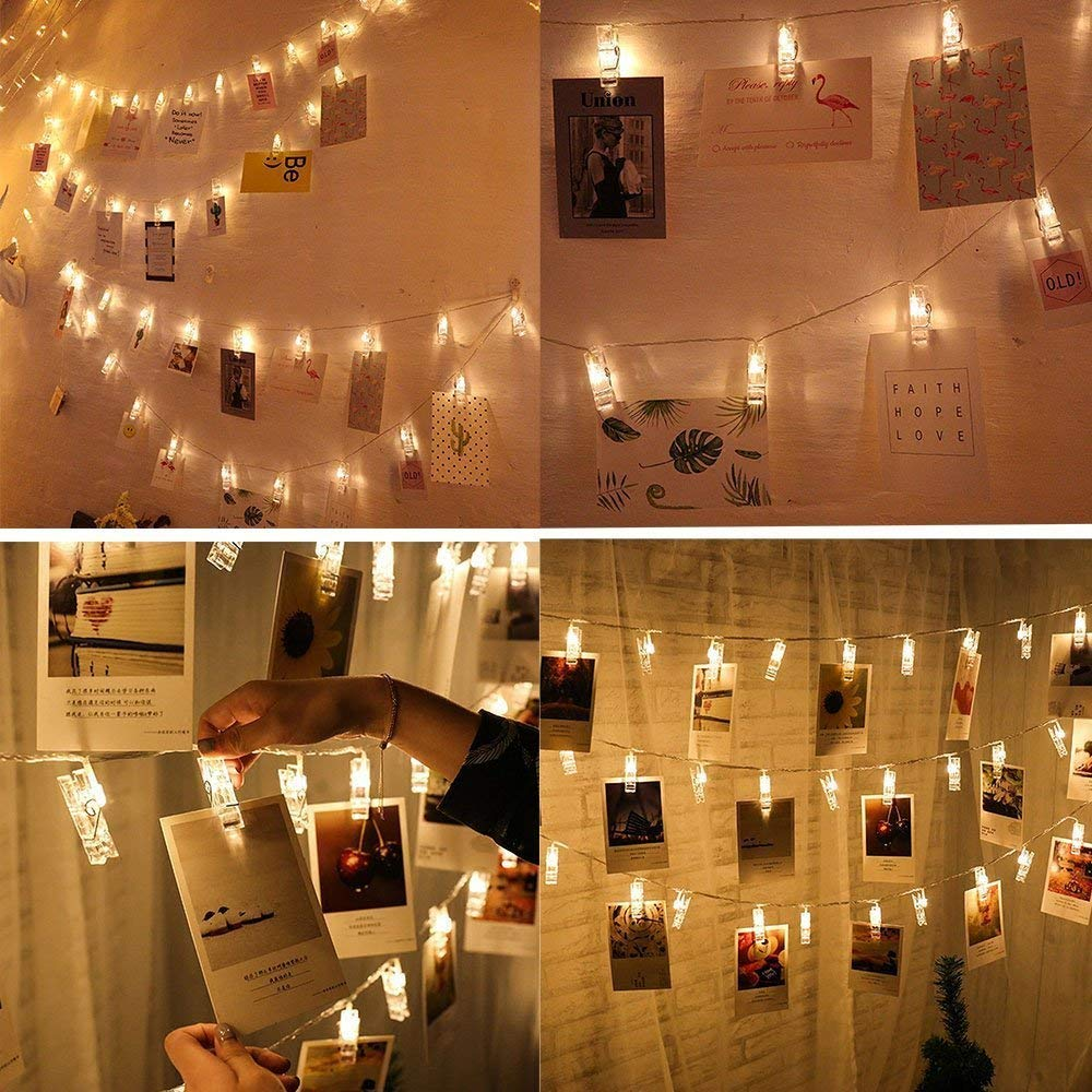 Stylish Photo Clip Lights String