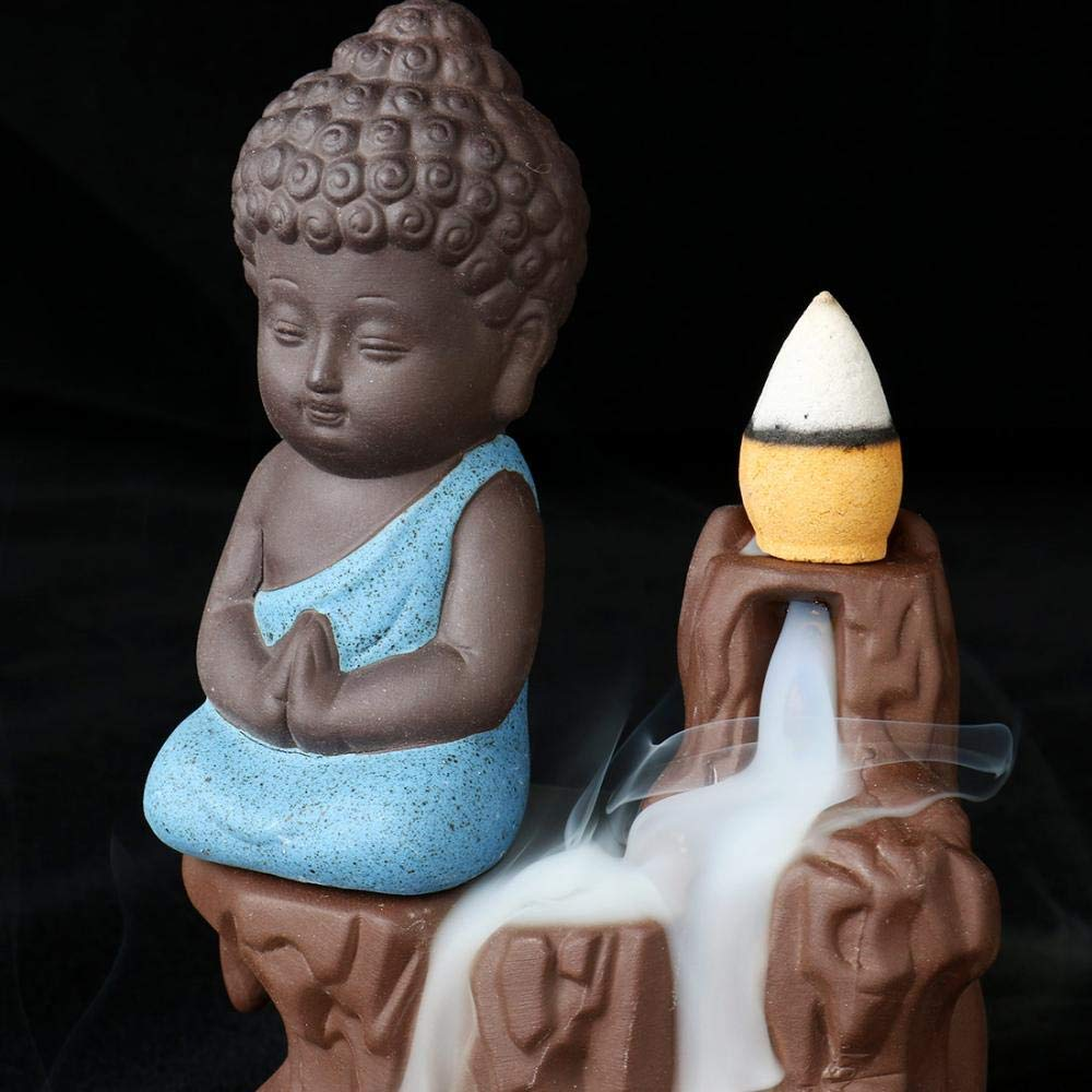 "Tranquil Buddha ""Waterfall"" Incense Burner"