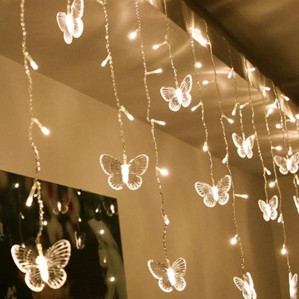USB Butterfly String Lights