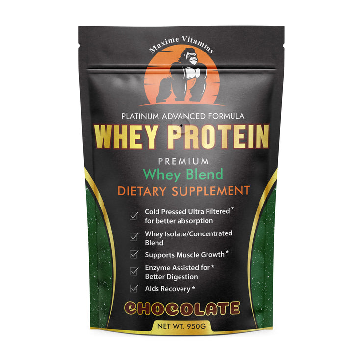 607 – Platinum Advanced Formula Whey Chocolate Protein Powder