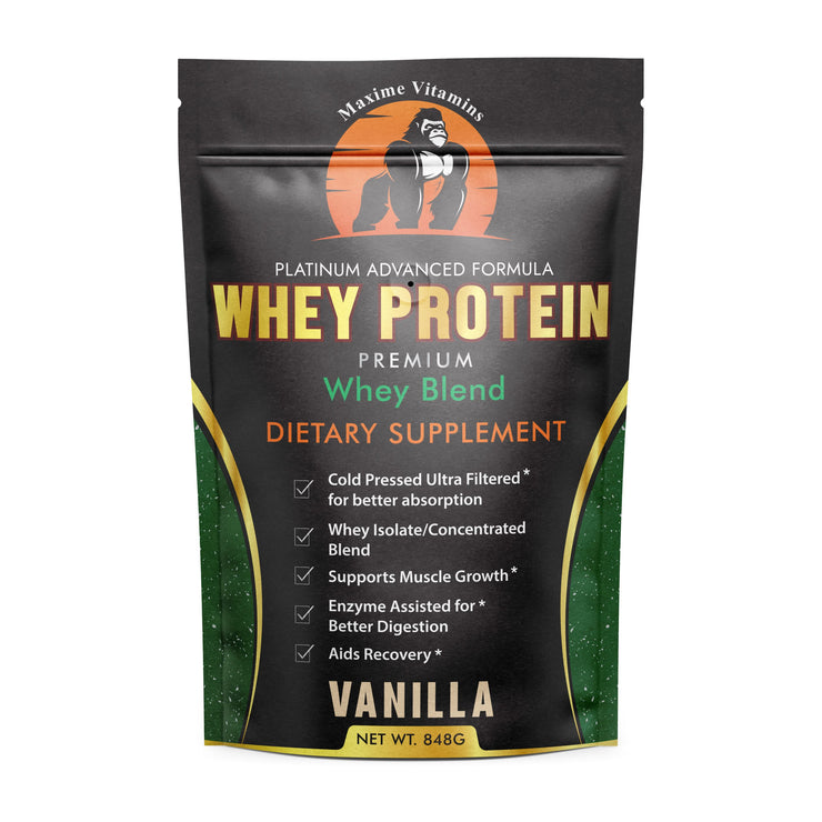 608 – Whey Protein Powder Vanilla