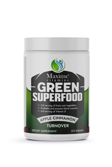 Organic Green Superfood - Apple Cinnamon