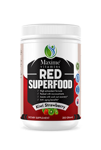 Organic Red Superfood - Kiwi Strawberry