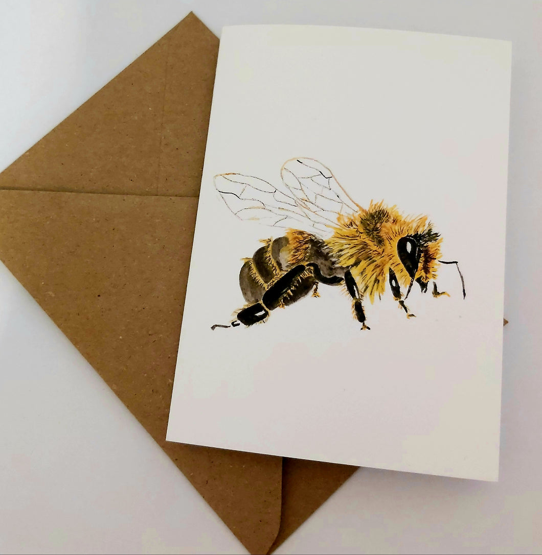 Add-On A Smelly Bees Greeting Card