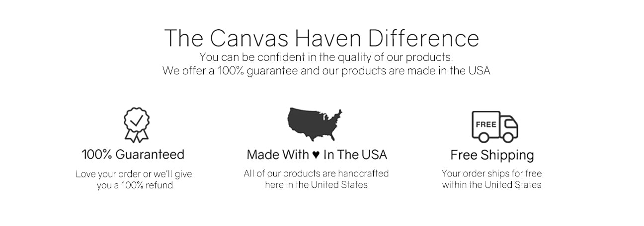 Canvas Haven Guarantee