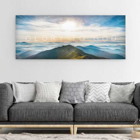 Glory To God Canvas Art By Canvas HVN