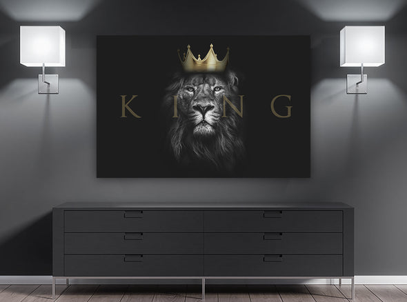 King Wall Art By Canvas HVN