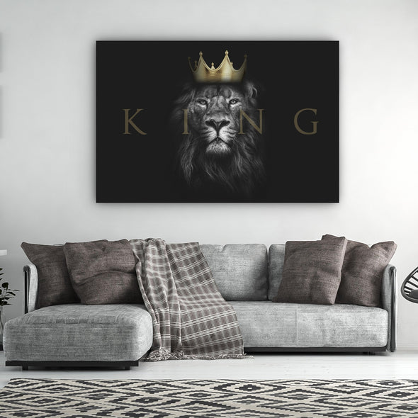 Christ Is King Wall Art By Canvas HVN