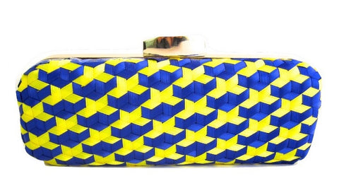 Reeves 3D Handwoven Clutch
