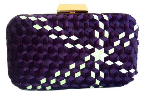 Emerson Handwoven Crossbody Clutch