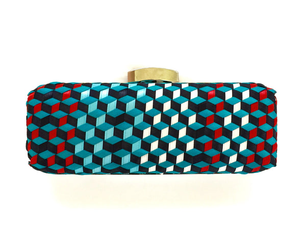 Royce 3D Handwoven Clutch