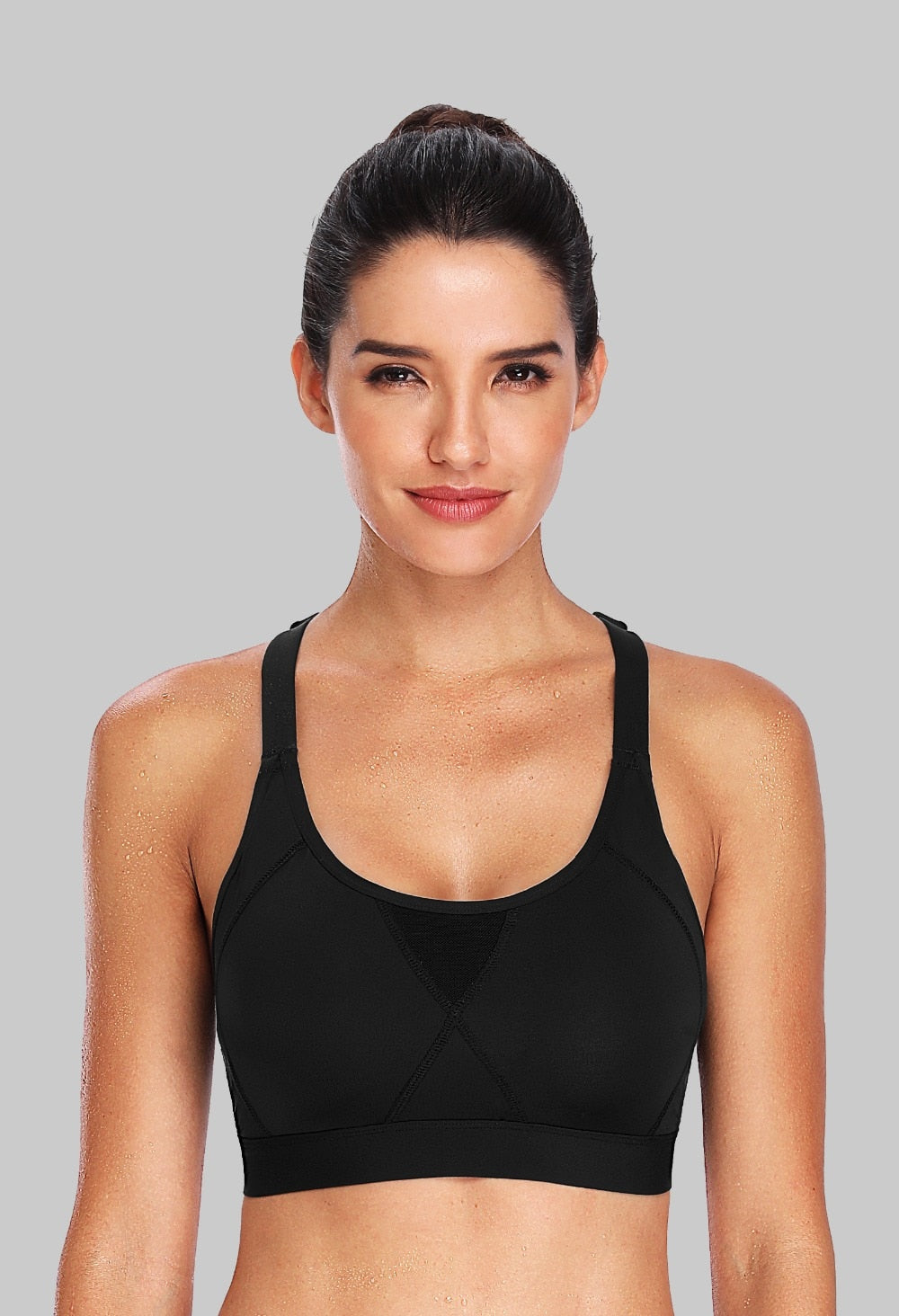 Hight Impact Sports Bras with Padded Support - Yoga Chance