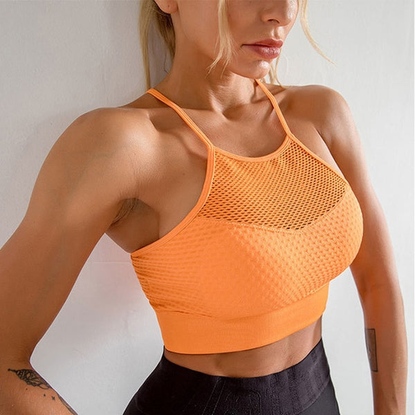 Breathable Sport Bras - Yoga Chance